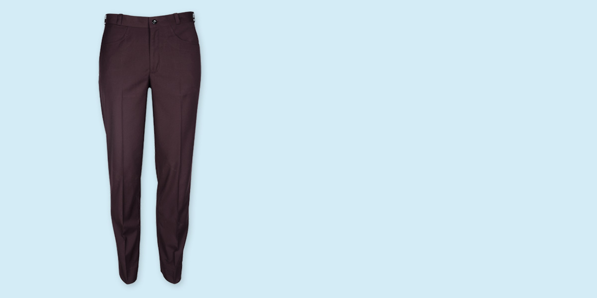 Easyday Urban Maroon Custom Pants- view-1