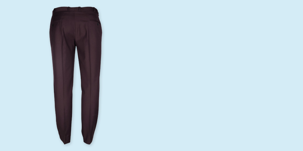 Easyday Urban Maroon Custom Pants- view-2