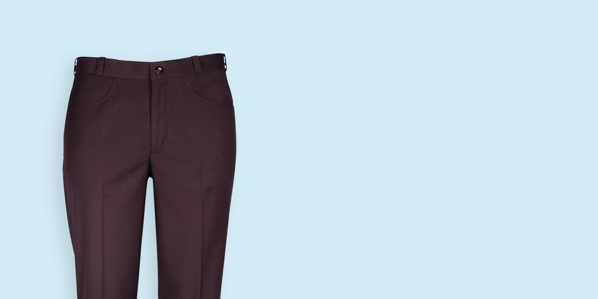 Easyday Urban Maroon Custom Pants- view-3