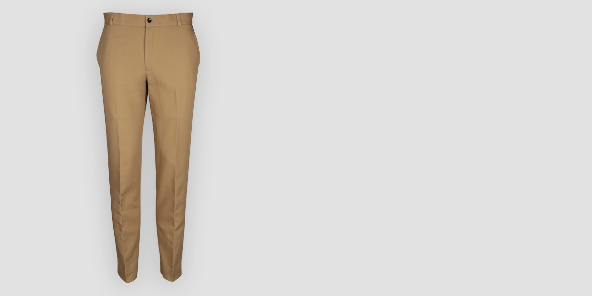 English Khaki Custom Pants- view-1
