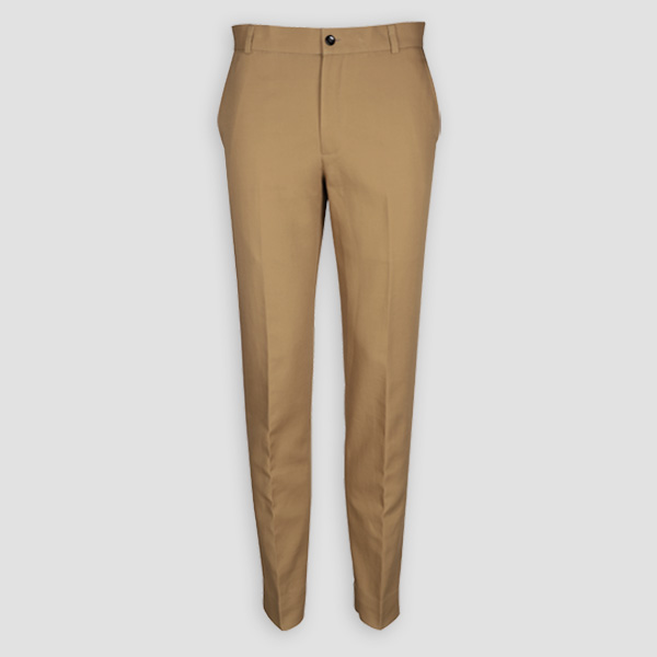 English Khaki Custom Pants-mbview-1