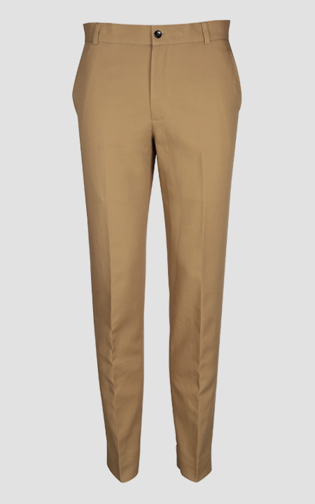English Khaki Custom Pants