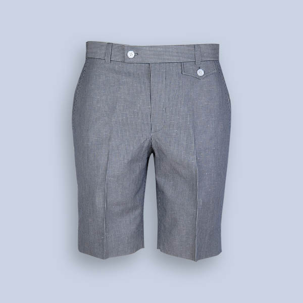 Coronado Grey Striped Shorts-mbview-1