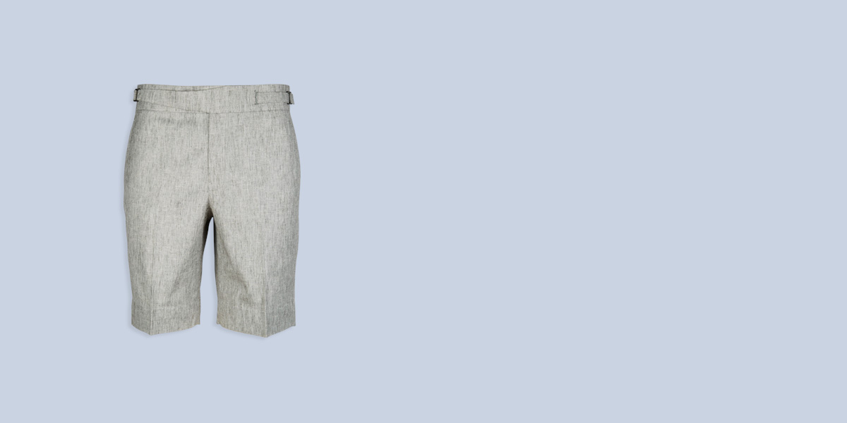Newport Organic Jute Beige Shorts- view-1