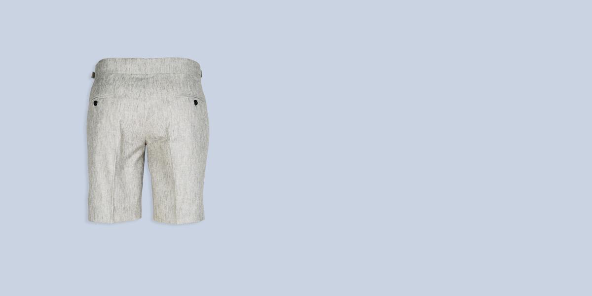 Newport Organic Jute Beige Shorts- view-2