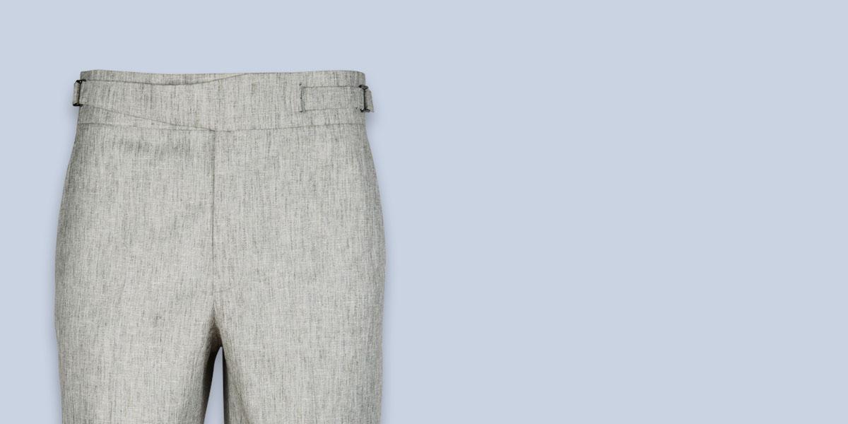 Newport Organic Jute Beige Shorts- view-3