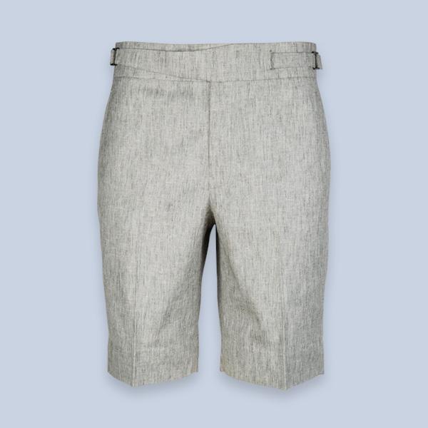 Newport Organic Jute Beige Shorts-mbview-1