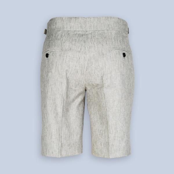 Newport Organic Jute Beige Shorts-mbview-2