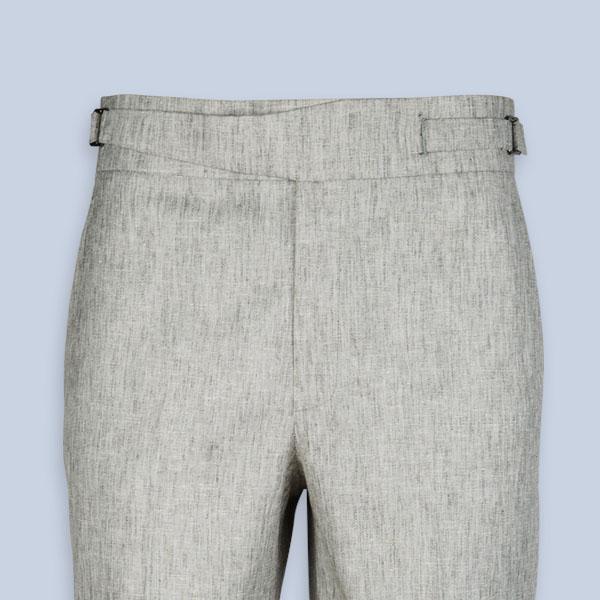 Newport Organic Jute Beige Shorts-mbview-3