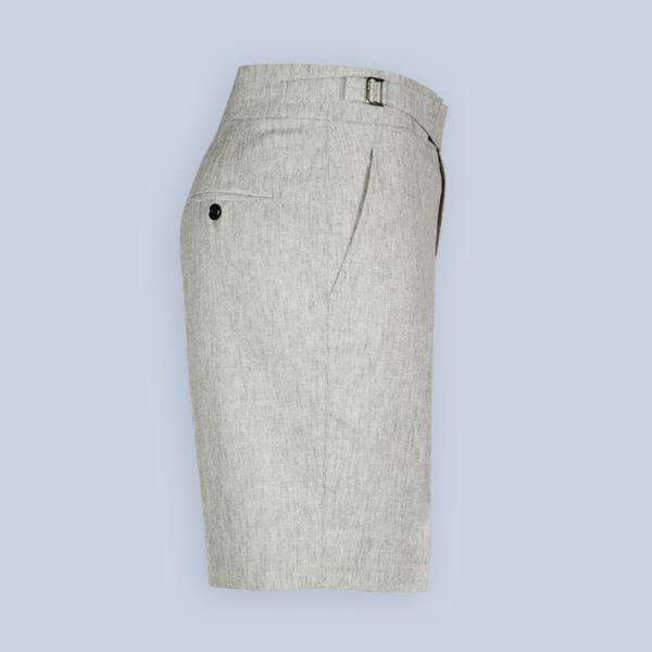 Newport Organic Jute Beige Shorts-mbview-4