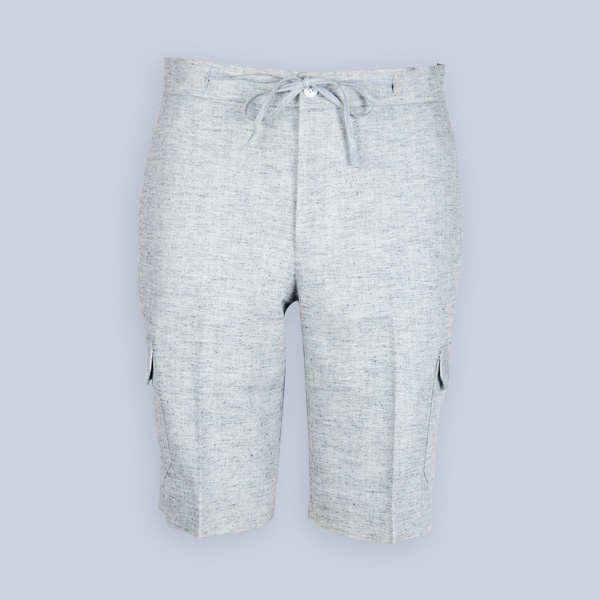 California Organic Jute Grey Shorts-mbview-1