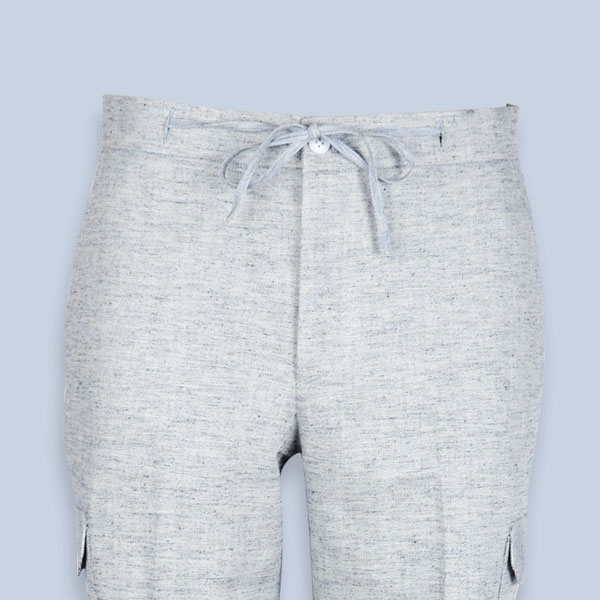 California Organic Jute Grey Shorts-mbview-3