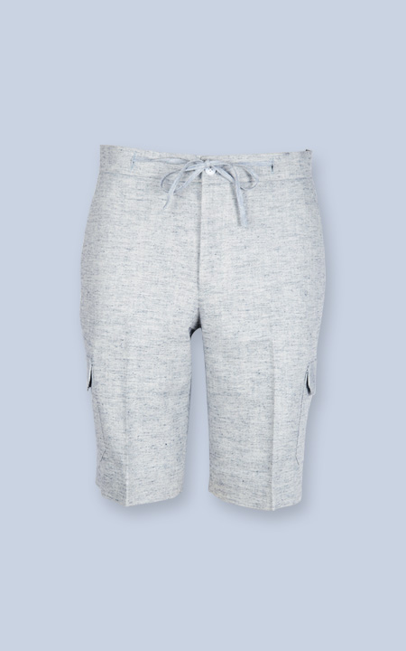 California Organic Jute Grey Shorts