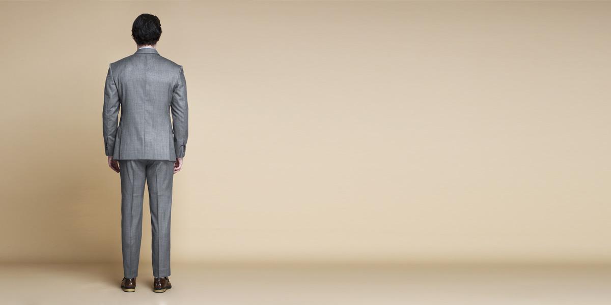 Milan Grey Nailhead Suit- view-2