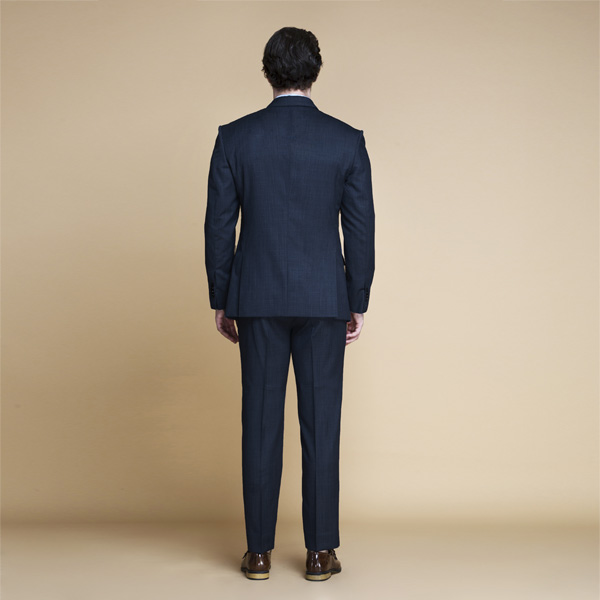 Lazio Houston Blue Nailhead Suit-mbview-2