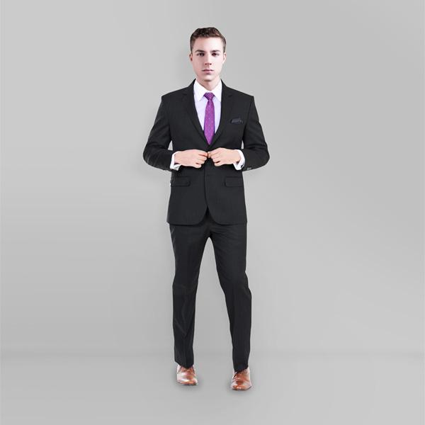 Charcoal Shark Custom Suit-mbview-1