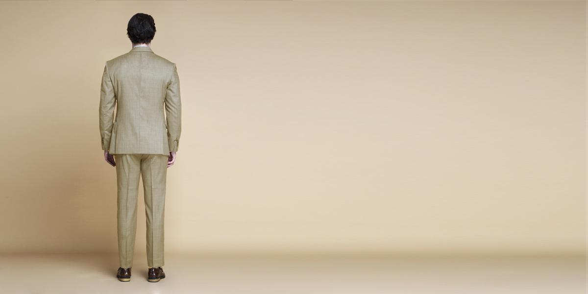 Heatbreaker Cool Sand Nailhead Suit- view-2
