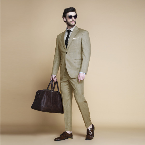 Heatbreaker Cool Sand Nailhead Suit-mbview-1