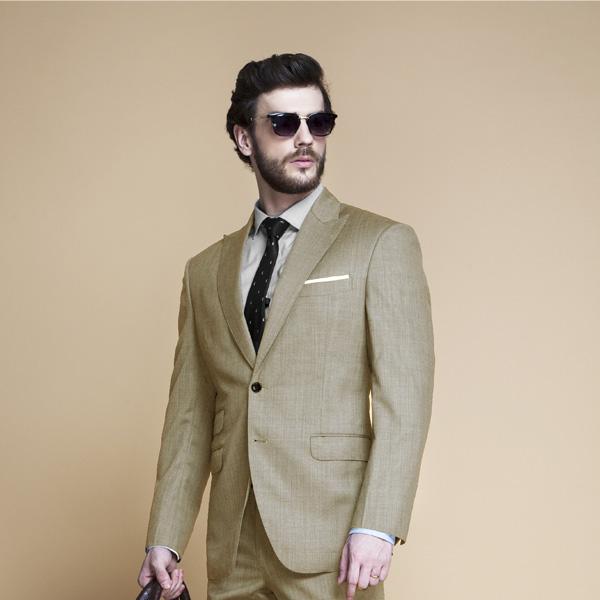 Heatbreaker Cool Sand Nailhead Suit-mbview-3
