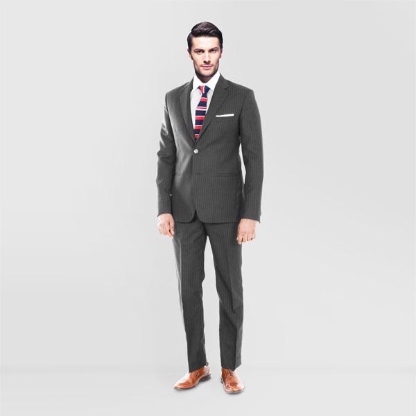 Charcoal Stripe Custom Suit-mbview-main