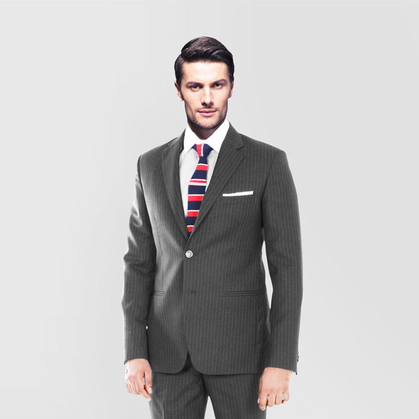 Charcoal Stripe Custom Suit-mbview-2
