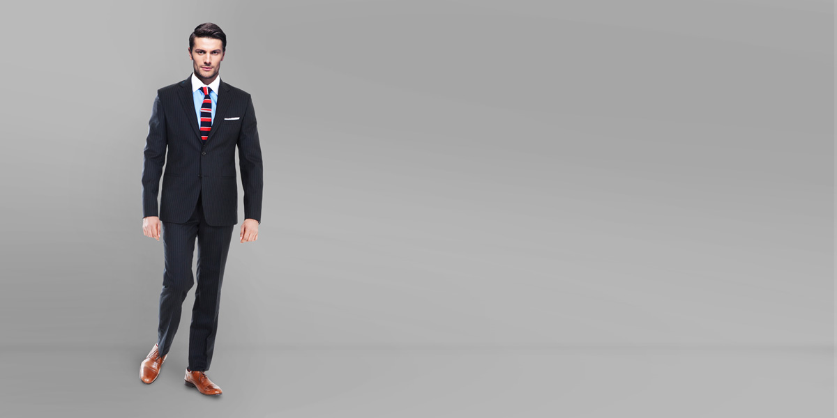 Black Stripe Custom Suit- view-1