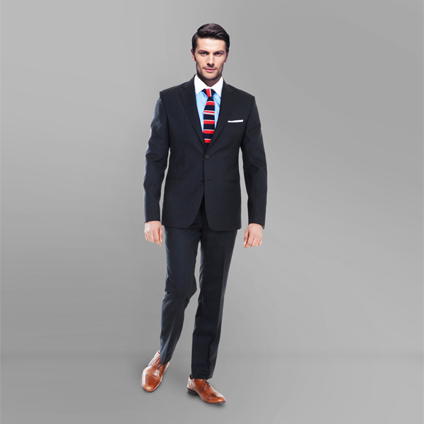 Black Stripe Custom Suit-mbview-1
