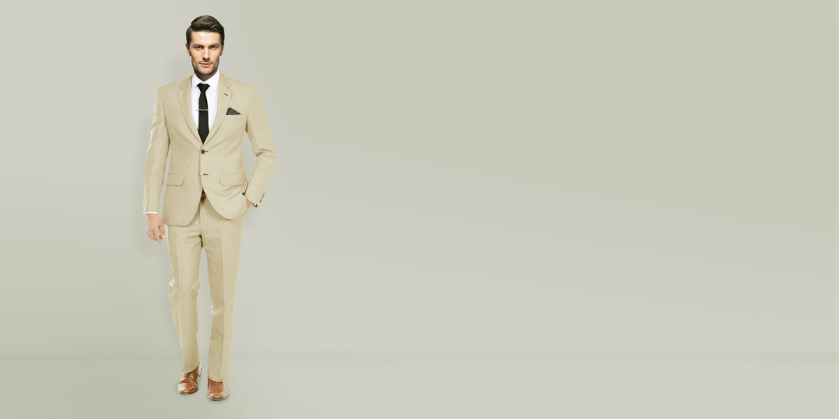 Camel Wool Custom Suit- view-1
