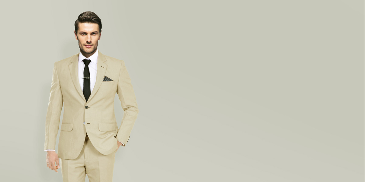 Camel Wool Custom Suit- view-2