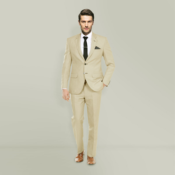 Camel Wool Custom Suit-mbview-1