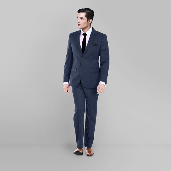 Houston Blue Pick & Pick Suit-mbview-1
