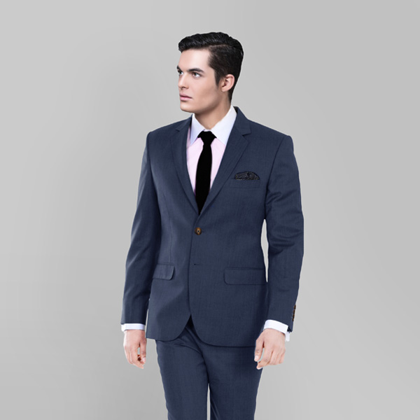 Houston Blue Pick & Pick Suit-mbview-2