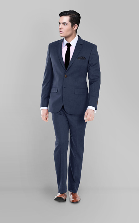 Houston Blue Pick & Pick Suit
