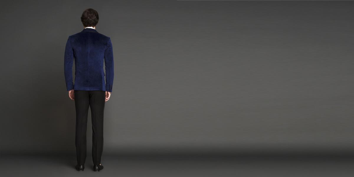 Rockefeller Blue Velvet Tuxedo- view-2