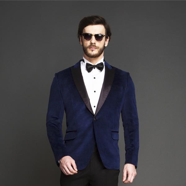 Rockefeller Blue Velvet Tuxedo-mbview-3