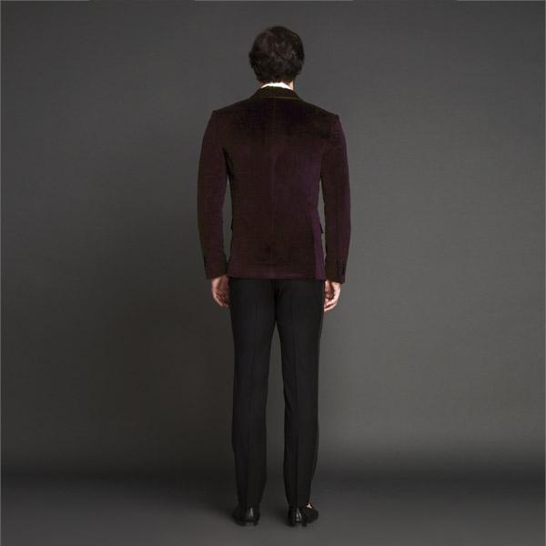 Statesman Maroon Velvet Tuxedo-mbview-2