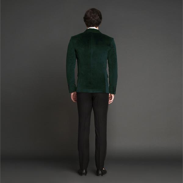 Calvary Green Velvet Tuxedo-mbview-2