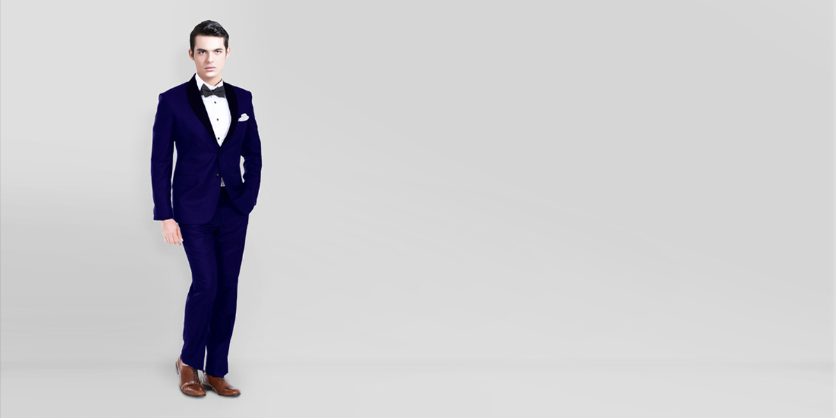 Royal Blue Tuxedo- view-1