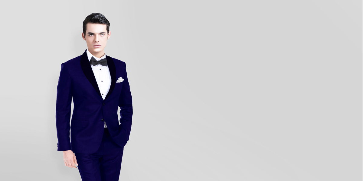 Royal Blue Tuxedo- view-2