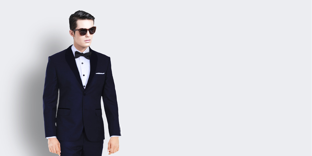 Midnight Blue Tuxedo- view-2