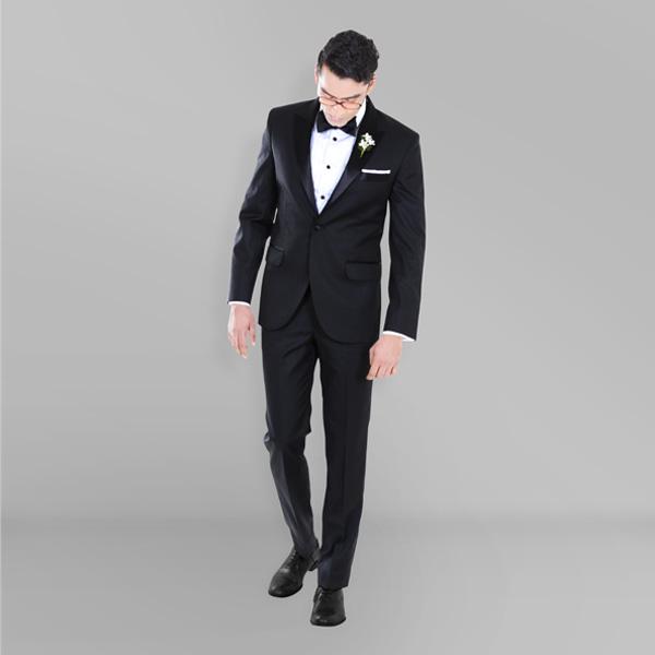 Black Satin Lapel Tuxedo-mbview-1