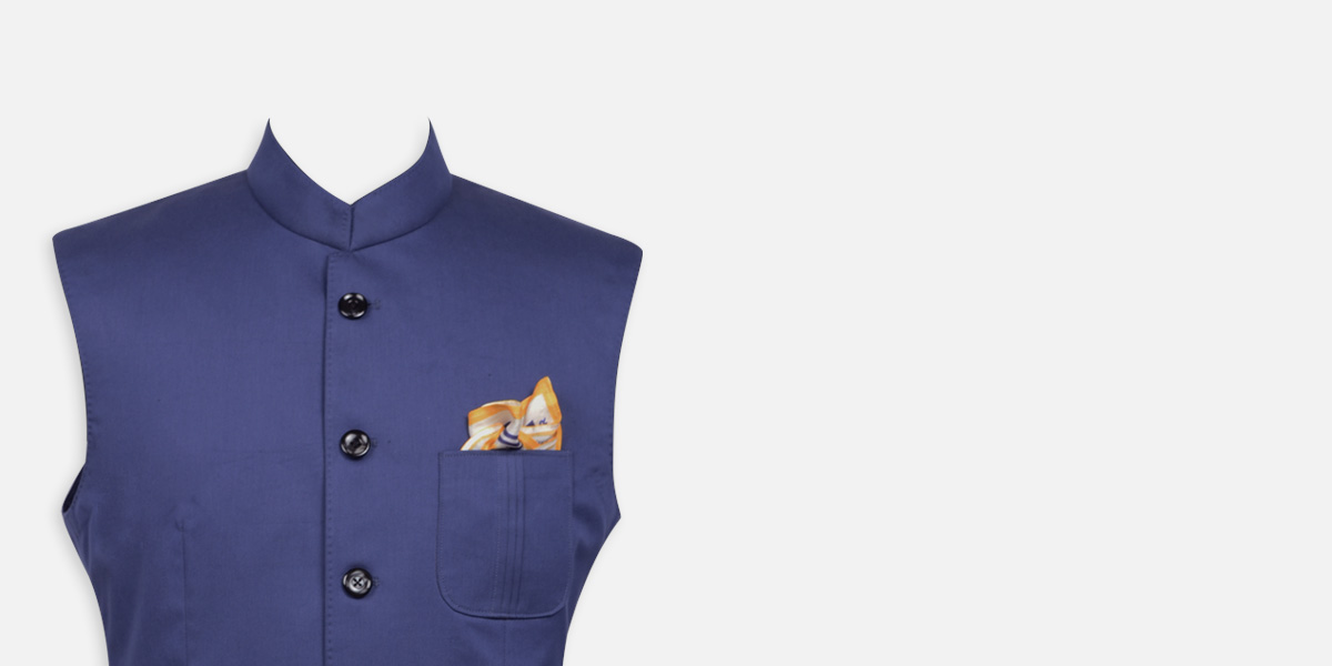 Indigo Blue East India Jacket - view-3