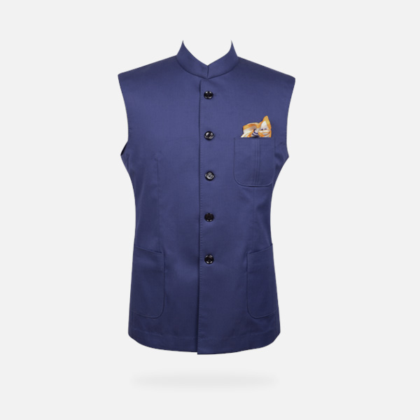 Indigo Blue East India Jacket -mbview-1