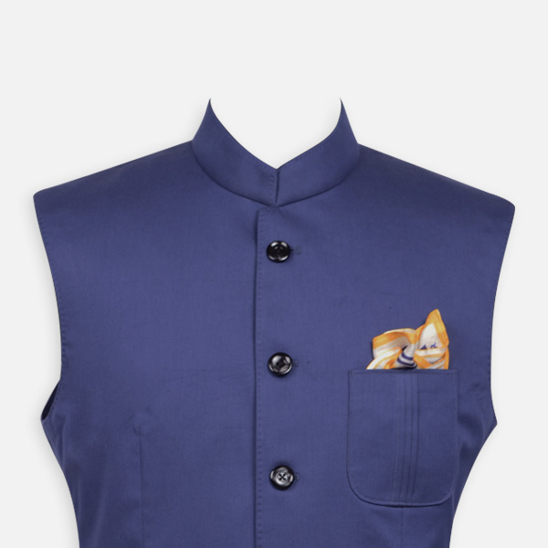 Indigo Blue East India Jacket -mbview-3