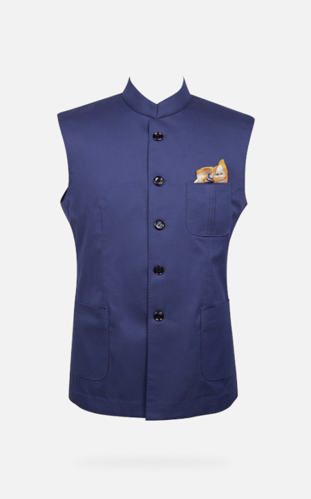 Indigo Blue East India Jacket