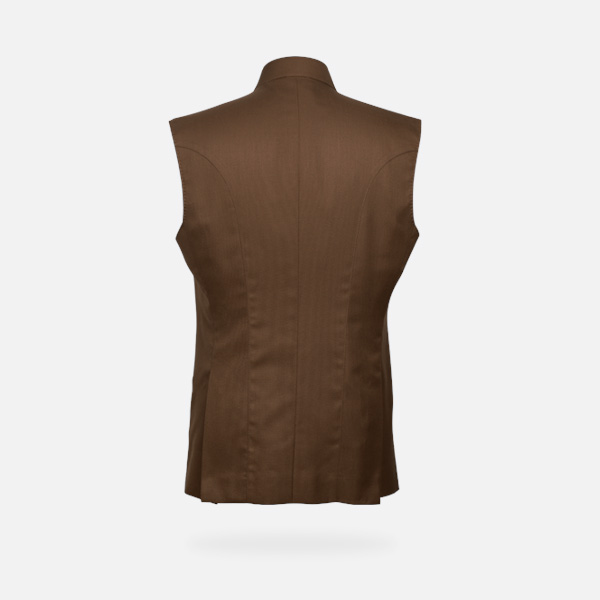 Earthy Brown Equestrian Polo Jacket-mbview-2
