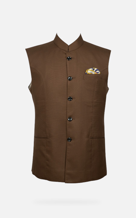 Earthy Brown Equestrian Polo Jacket