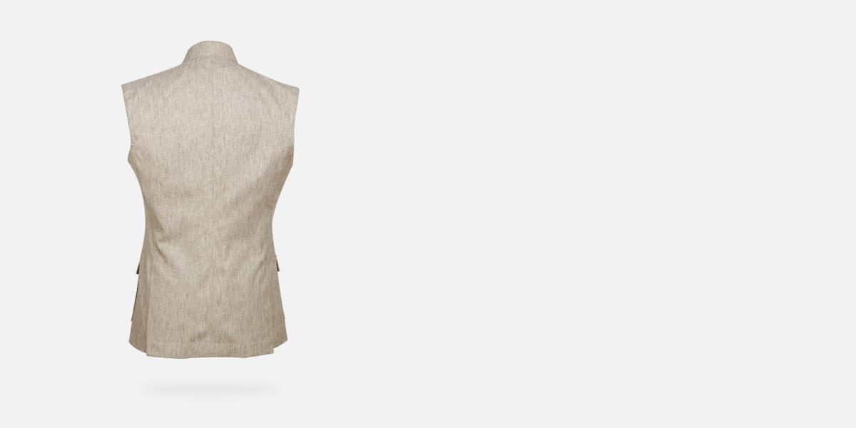 Organic Pastel Tagore Jacket- view-2