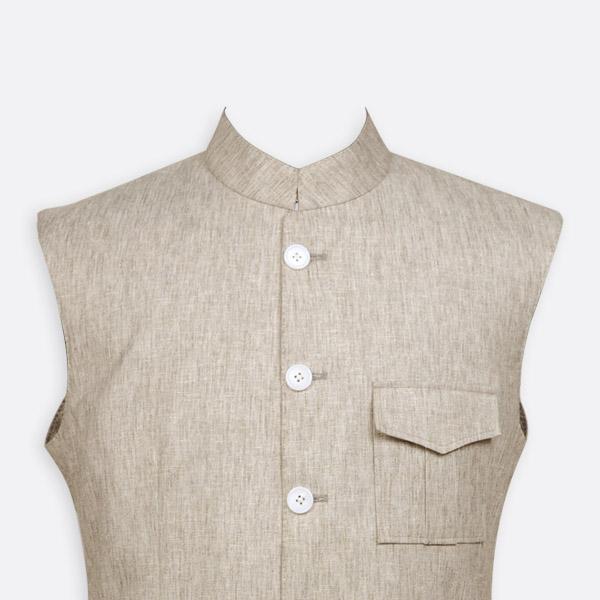 Organic Pastel Tagore Jacket-mbview-3