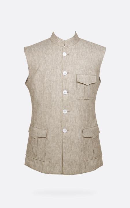 Organic Pastel Tagore Jacket